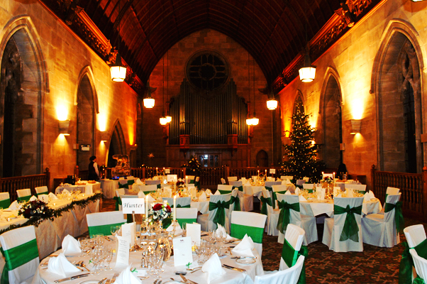 Winter Wedding Interiors
